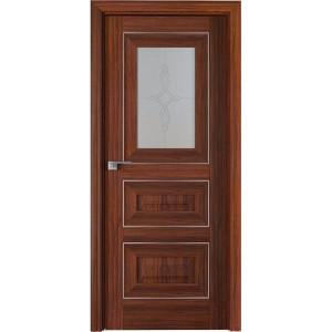 Дверь Профиль дорс 26Х Орех амари - со стеклом