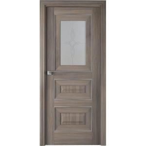 Дверь Профиль дорс 26Х Орех пекан - со стеклом