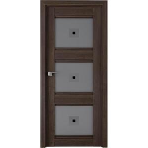 Дверь Профиль дорс 4Х Орех сиена - со стеклом