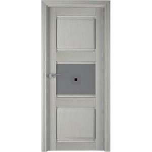 5Х Эш вайт - дверь Профиль дорс со стеклом
