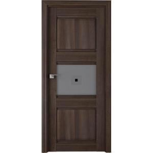 5Х Орех сиена - Дверь Профиль дорс со стеклом