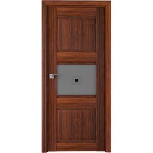 Дверь Профиль дорс 5Х Орех амари - со стеклом