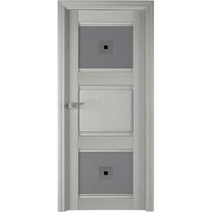 6Х Эш вайт - дверь Профиль дорс со стеклом