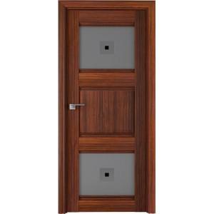 6Х Орех амари - Дверь Профиль дорс со стеклом
