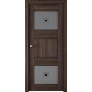 6Х Орех сиена - дверь Профиль дорс со стеклом