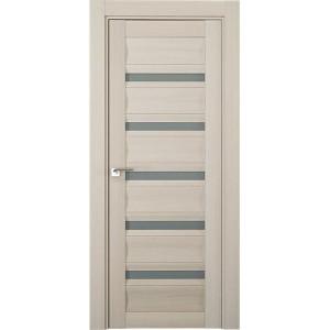 Дверь Профиль дорс 116Х Эш вайт мелинга - со стеклом