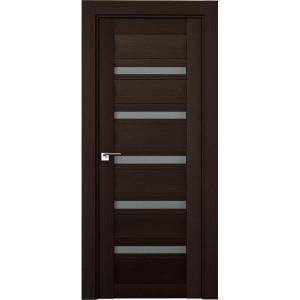 Дверь Профиль дорс 116Х Венге мелинга - со стеклом