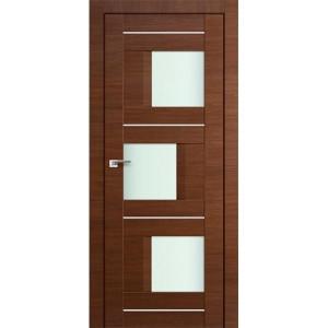 Дверь Профиль дорс 13Х Малага черри кроскут - со стеклом