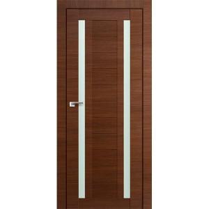 Дверь Профиль дорс 15Х Малага черри кроскут - со стеклом