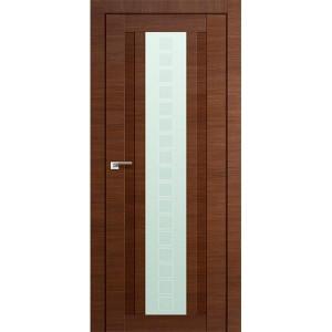 Дверь Профиль дорс 16Х Малага черри кроскут - со стеклом