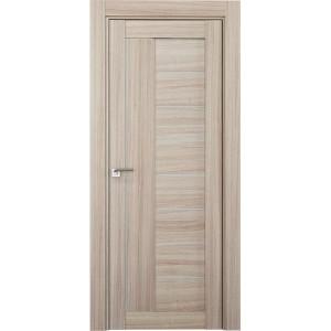 Дверь Профиль дорс 17Х Капучино мелинга - со стеклом