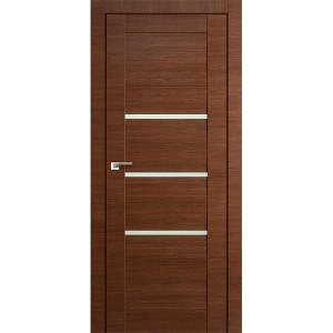 Дверь Профиль дорс 18Х Малага черри кроскут - со стеклом
