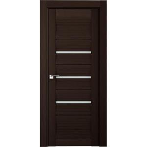 Дверь Профиль дорс 18Х Венге мелинга - со стеклом