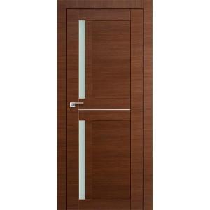 Дверь Профиль дорс 19Х Малага черри кроскут - со стеклом