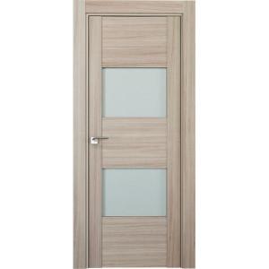 Дверь Профиль дорс 21Х Капучино мелинга - со стеклом