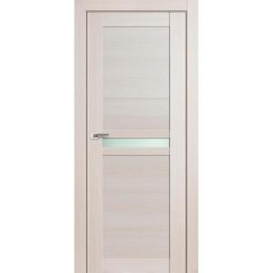 Дверь Профиль дорс 2.43Х Эш вайт мелинга - со стеклом