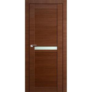 Дверь Профиль дорс 2.43Х Малага черри кроскут - со стеклом