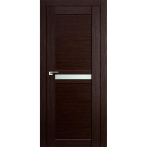Дверь Профиль дорс 2.43Х Венге мелинга - со стеклом