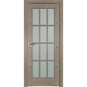 Дверь Профиль дорс 102XN Каштан темный - со стеклом