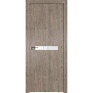 Дверь Профиль дорс 2.02XN Каштан темный - со стеклом