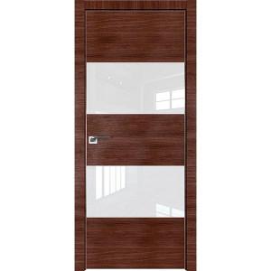 Дверь Профиль дорс 10Z Малага черри кроскут - со стеклом