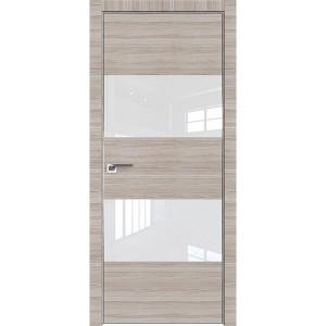 Дверь Профиль дорс 10Z Капуччино кроскут - со стеклом