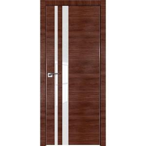 Дверь Профиль дорс 16Z Малага черри кроскут - со стеклом