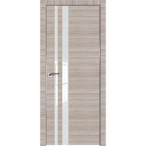 Дверь Профиль дорс 16Z Капуччино кроскут - со стеклом