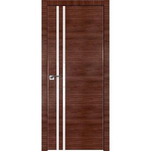 Дверь Профиль дорс 19Z Малага черри кроскут - со стеклом