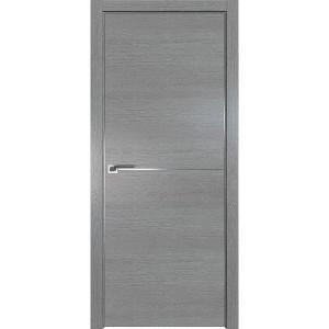 Дверь Профиль дорс 12ZN Грувд серый - глухая