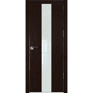 Дверь Профиль дорс 25ZN Дарк браун - со стеклом
