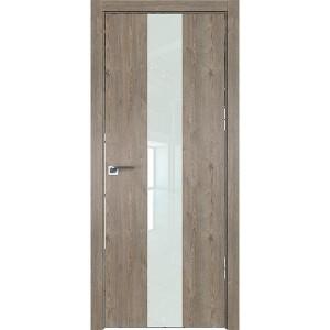 Дверь Профиль дорс 25ZN Каштан темный - со стеклом