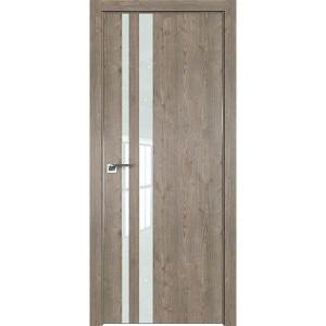 Дверь Профиль дорс 16ZN Каштан темный - со стеклом