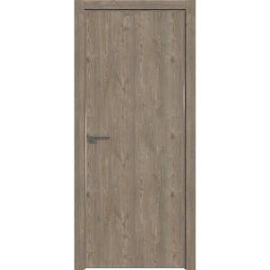 Дверь Профиль дорс 1ZN Каштан темный - глухая