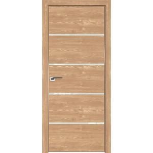 Дверь Профиль дорс 20ZN Каштан натуральный - со стеклом