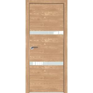 Дверь Профиль дорс 30ZN Каштан натуральный - со стеклом