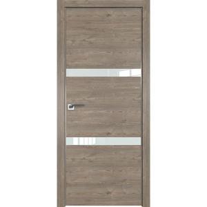 Дверь Профиль дорс 30ZN Каштан темный - со стеклом