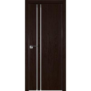 Дверь Профиль дорс 35ZN Дарк браун - со стеклом