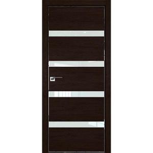 Дверь Профиль дорс 26ZN Дарк браун - со стеклом