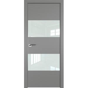 Дверь профиль дорс 10Е Грей - со стеклом