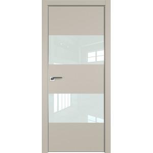 Дверь профиль дорс 10Е Шеллгрей - со стеклом