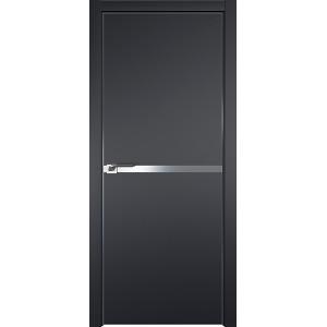 Дверь Профиль дорс 11Е Черный матовый - глухая