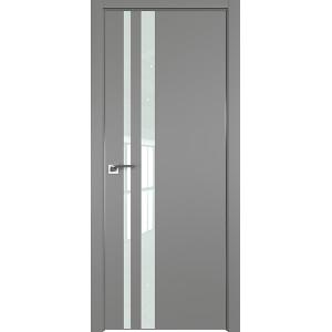 Дверь профиль дорс 16Е Грей - со стеклом