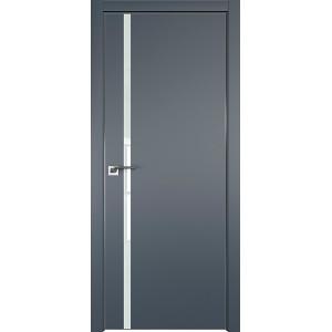 Дверь профиль дорс 22Е Антрацит - со стеклом