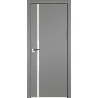 Дверь профиль дорс 22Е Грей - со стеклом
