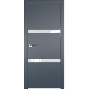Дверь Профиль дорс 30Е Антрацит - со стеклом