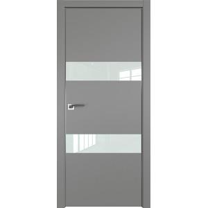 Дверь Профиль дорс 34Е Грей - со стеклом