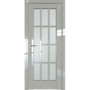 Дверь Профиль дорс 102L Галька люкс - со стеклом