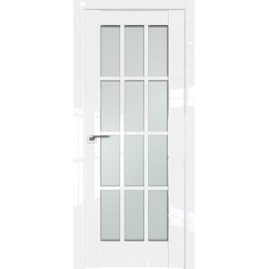 Дверь Профиль дорс 102L Белый люкс - со стеклом
