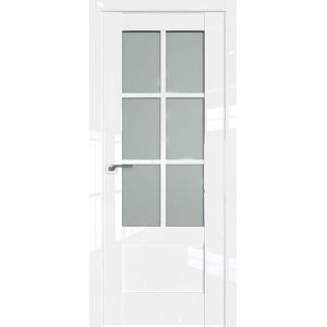Дверь Профиль дорс 103L Белый люкс - со стеклом